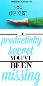 The Productivity Secret You've Been Missing