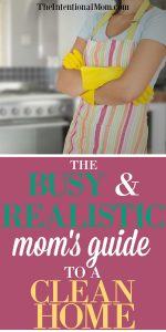 The Busy & Realistic Mom's Guide to a Clean Home
