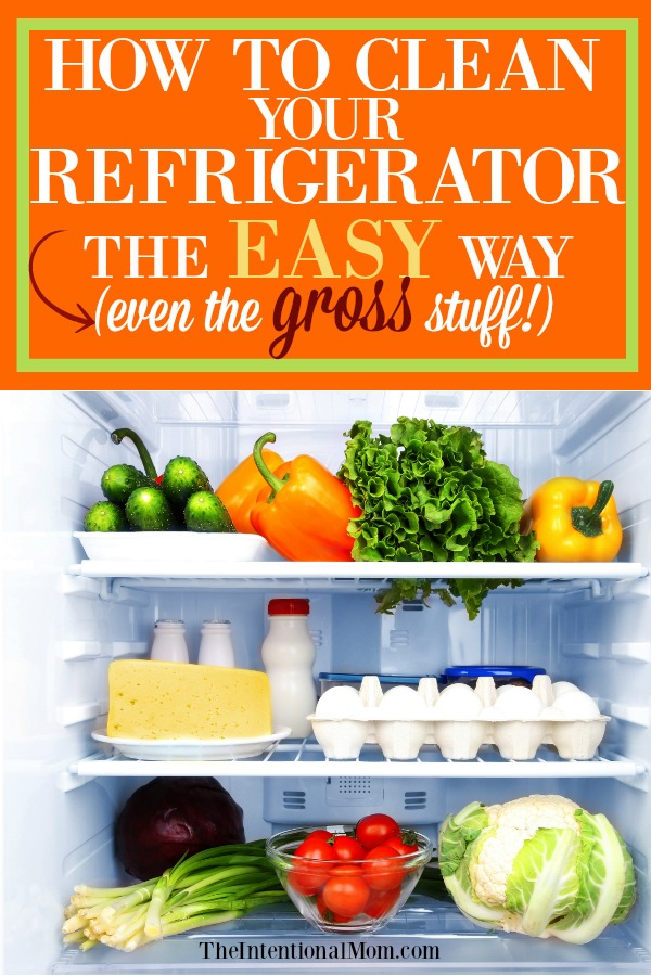 clean refrigerator easy