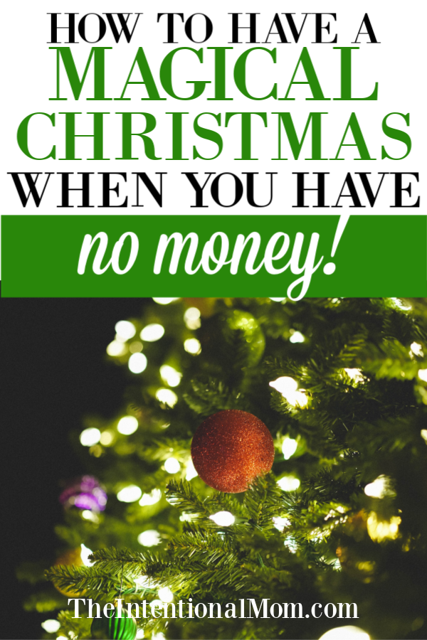 magical christmas no money