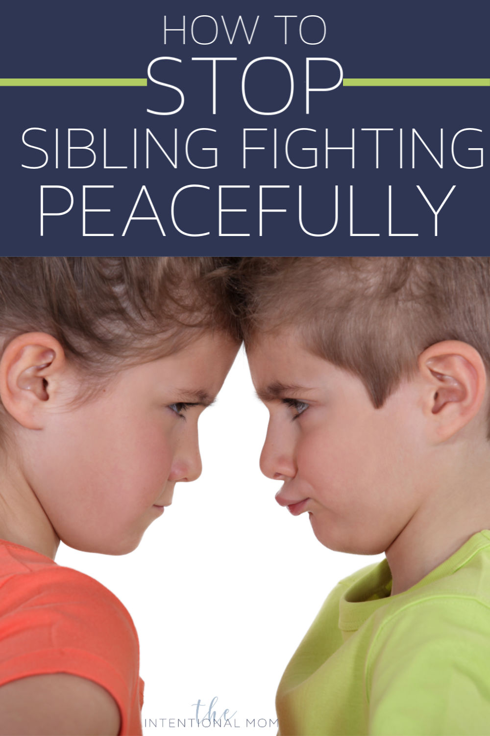 stop sibling fighting help