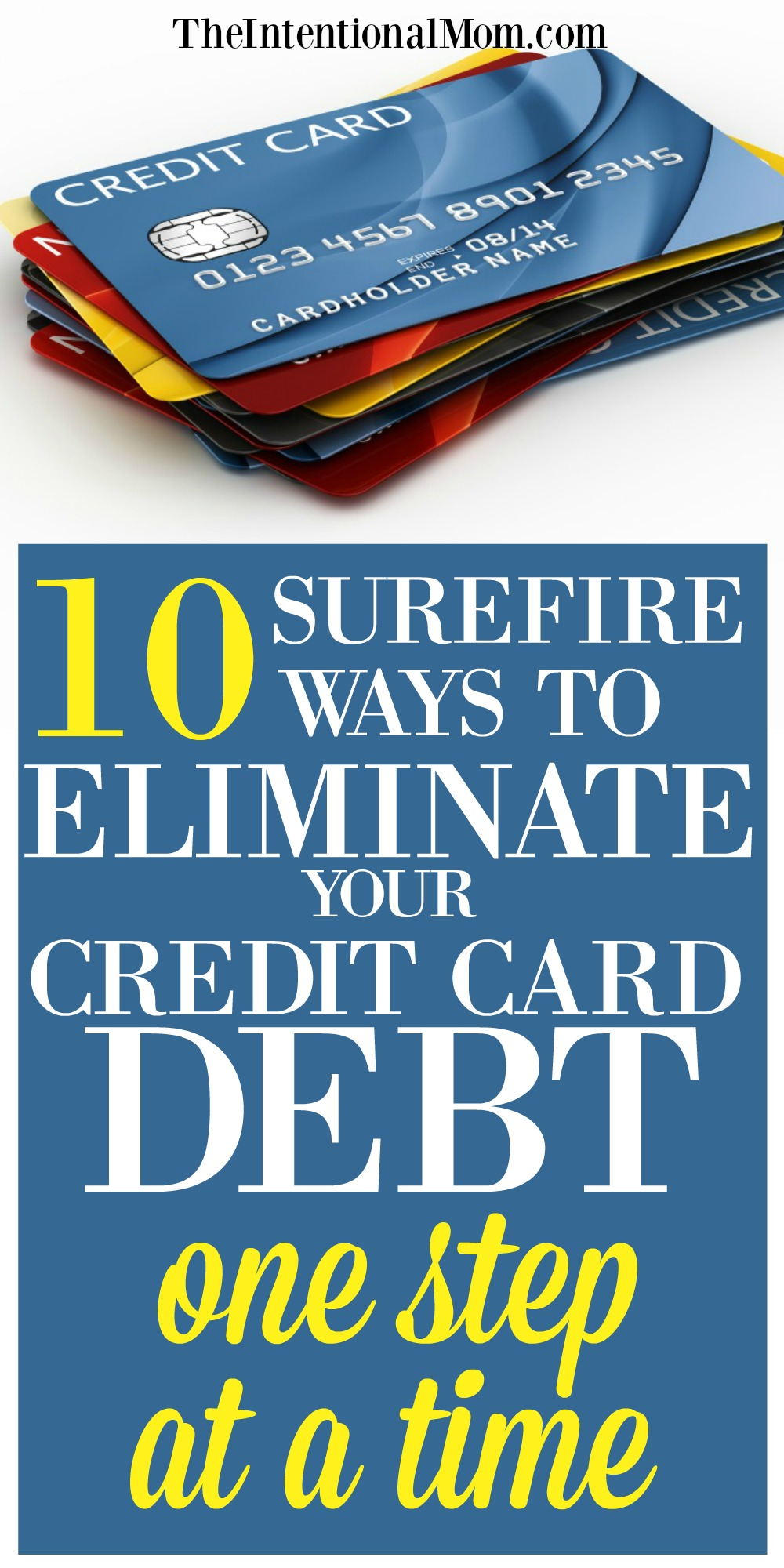 eliminate credit card date