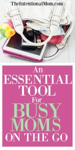 An Essential Tool For Moms On the Go
