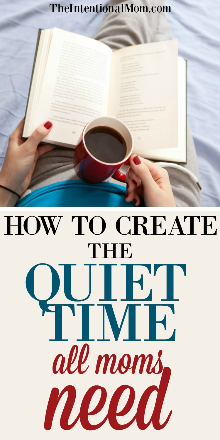quiet time moms
