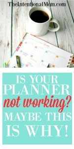 Is Your Planner Not Working? Maybe This Is Why!