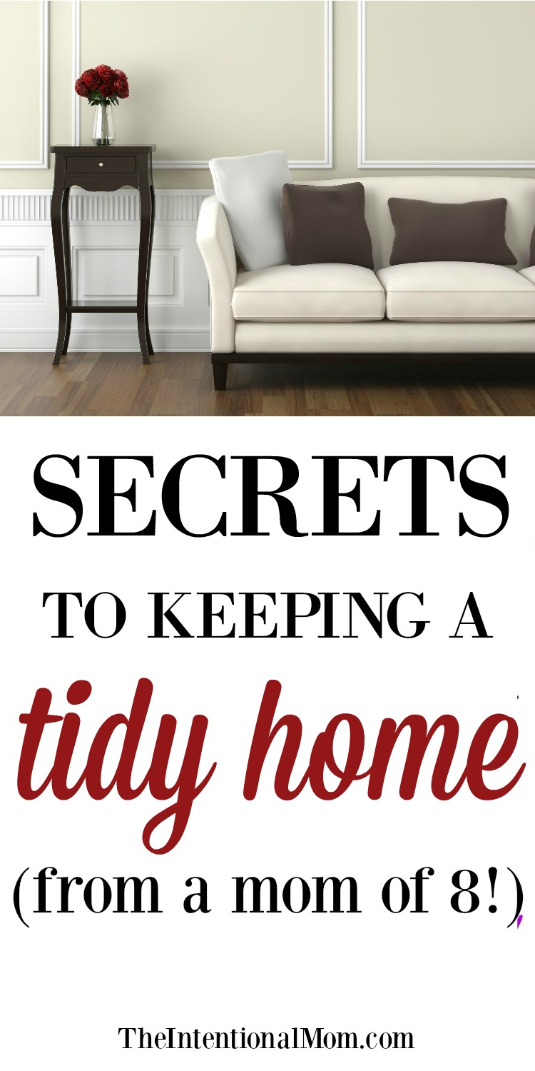 secrets to tidy home