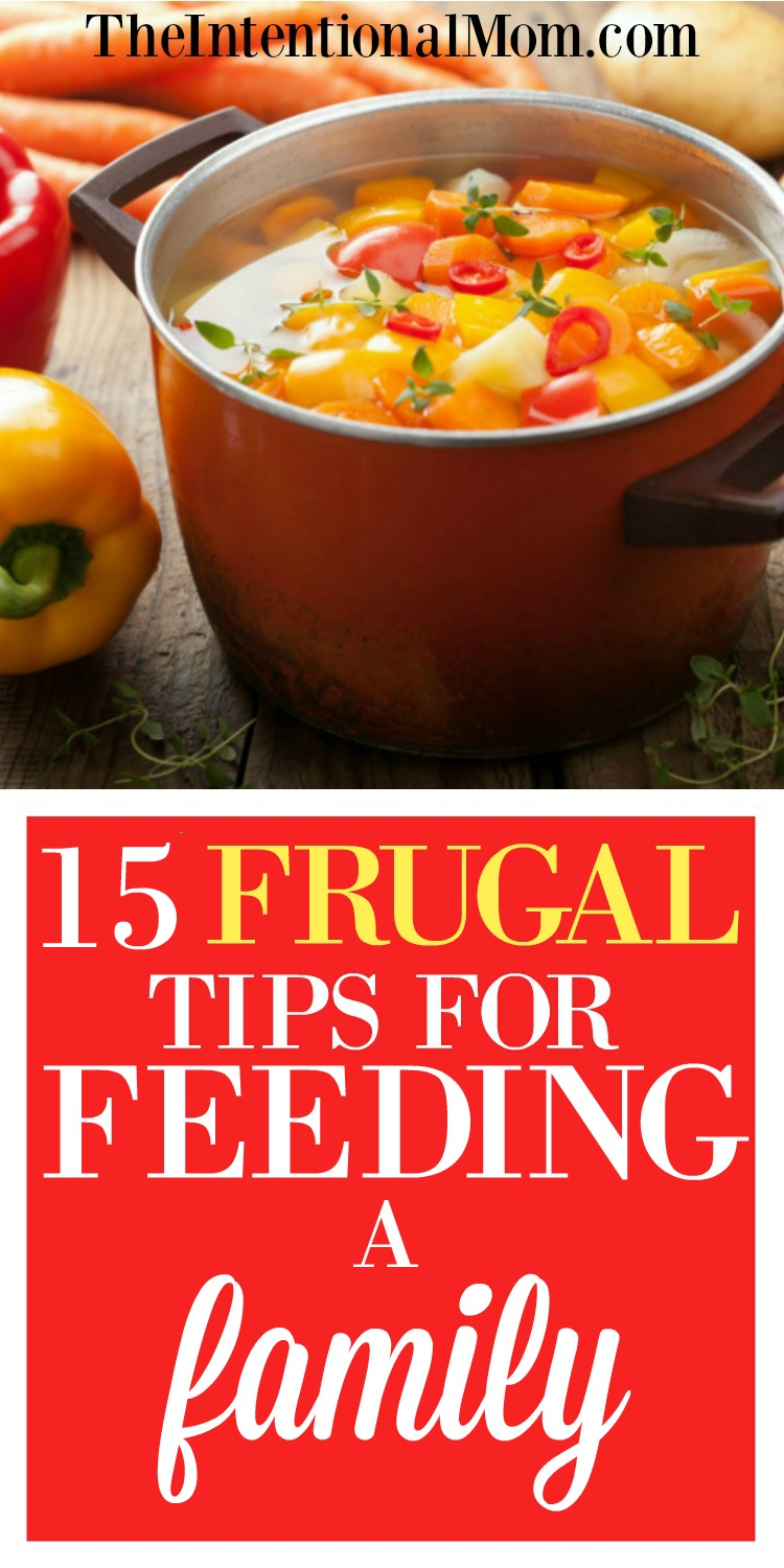 frugal family feeding