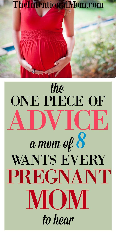 pregnancy advice