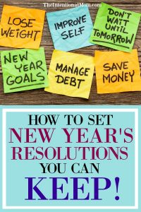 How to Set New Year's Resolutions You Can Actually KEEP!