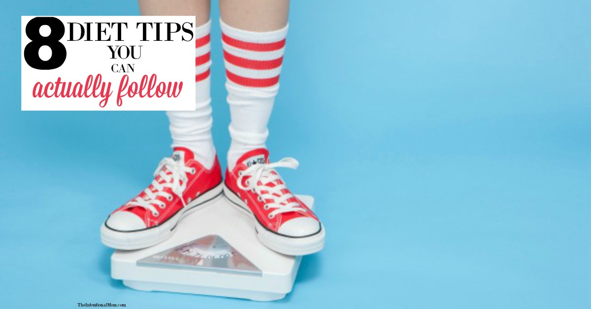 8 Diet Tips You Can Actually Follow With Free Email Challenge