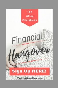 Do You Have the After Christmas Financial Hangover?