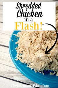 Shredded Chicken in a Flash Using Your Instant Pot