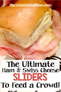 The Ultimate Ham & Cheese Sliders That Feed a Crowd!