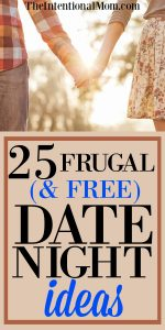 25 Frugal (and free) Date Night Ideas