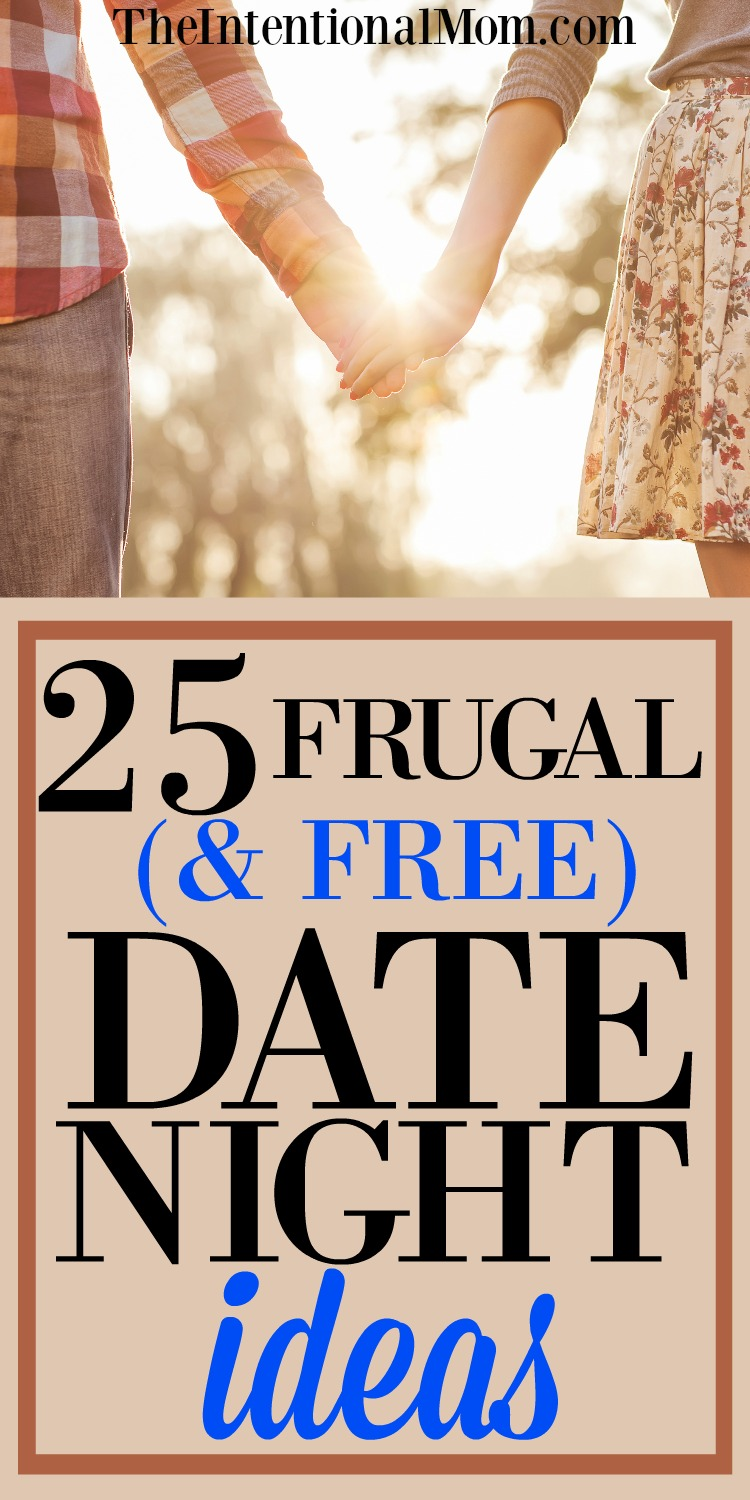 25 Frugal (and free!) Date Night Ideas