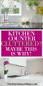 Kitchen Countertops Cluttered? Maybe This Is Why