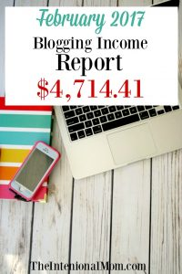 February Blogging Income Report $4,714.41