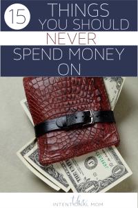 no spend list
