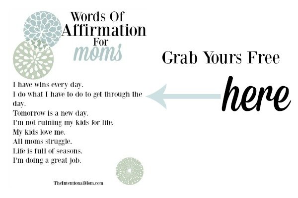 dear mom of little ones from my mama heart to yours