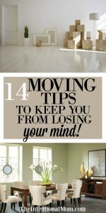 14 Moving Tips to Keep You From Losing Your Mind!