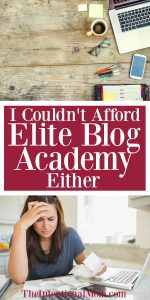 I Couldn't Afford Elite Blog Academy Either