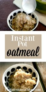 Instant Pot Cinnamon Roll Oatmeal