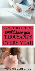 Doing This One Thing Could Save You Thousands Every Year