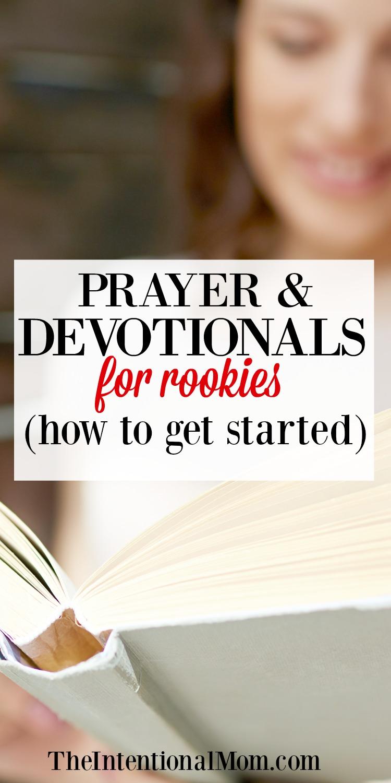 prayer devotional