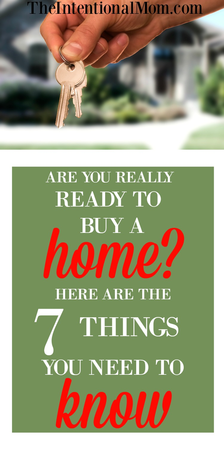 Are you really ready to buy a home here are 7 things you for Things you need for a house