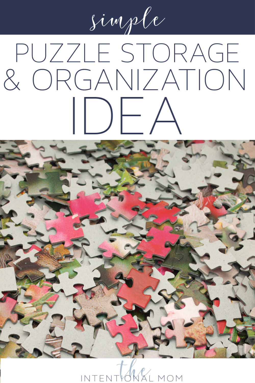 puzzle storage organization