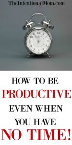 How to Be Productive Even When You Have NO Time