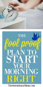 The Fool Proof Plan to Start Your Morning Right