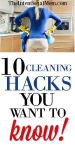 10 Cleaning Hacks You Want to Know
