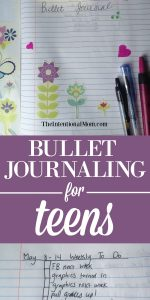 Bullet Journaling For Teens (written by a teen)