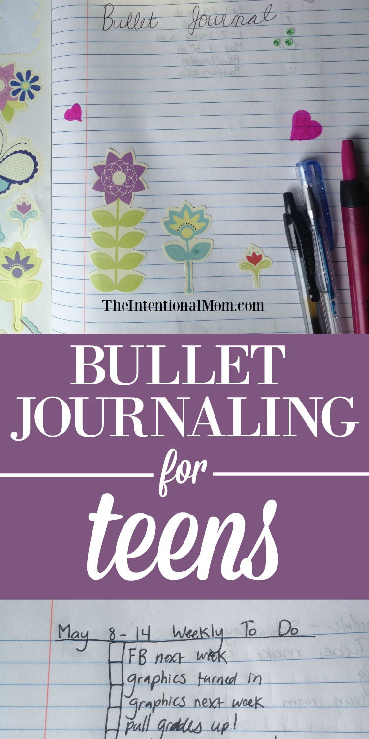 bullet journaling for teens written by a teen. Black Bedroom Furniture Sets. Home Design Ideas