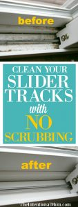 Clean Your Slider Tracks With NO Scrubbing!