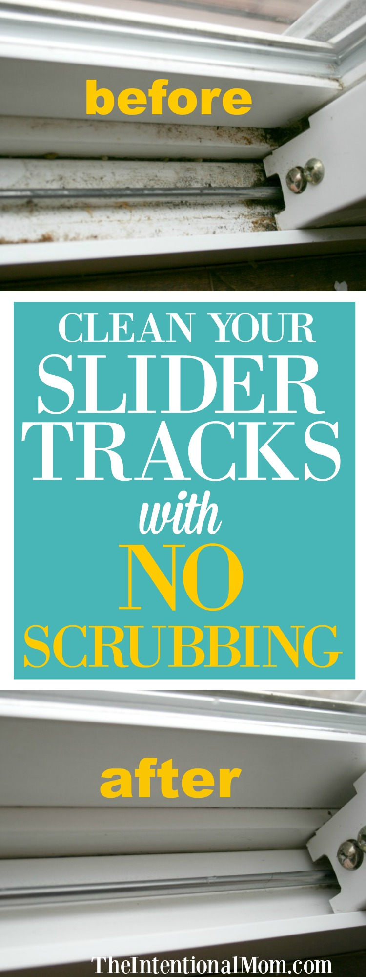 clean slider tracks