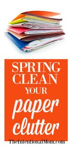 Spring Clean Your Paper Clutter