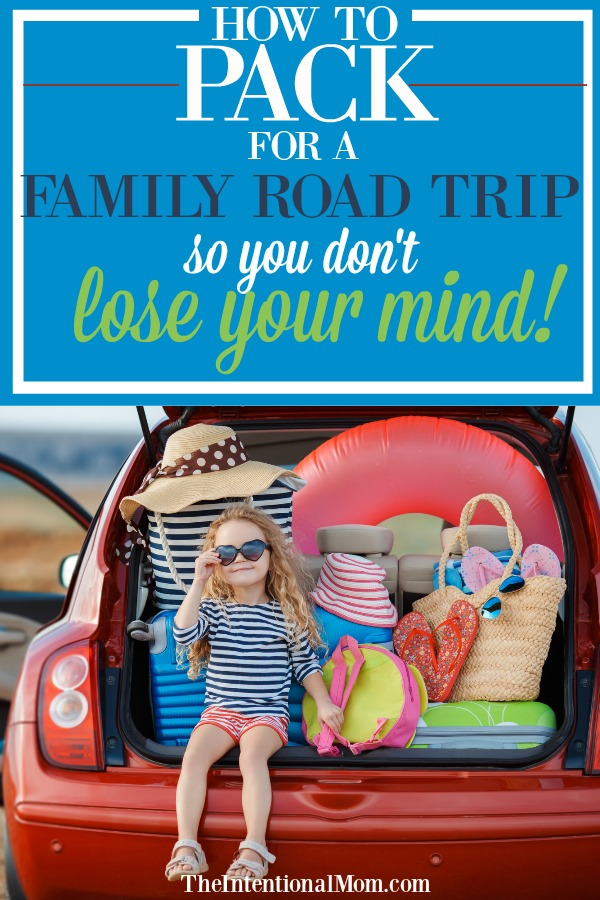 road trip packing hacks