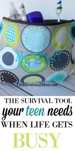 The Survival Tool Your Teen Needs When Life Gets Busy