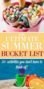 The Ultimate Family Friendly Summer Bucket List {30+ Ideas!}