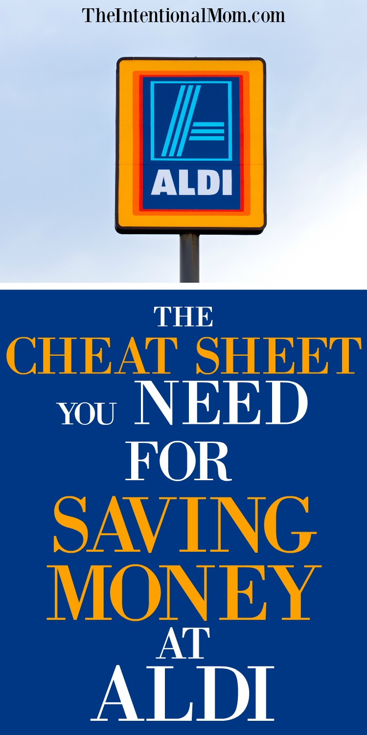 The Cheat Sheet You Need For Saving Money At ALDI