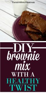 DIY Brownie Mix With a Healthy Twist