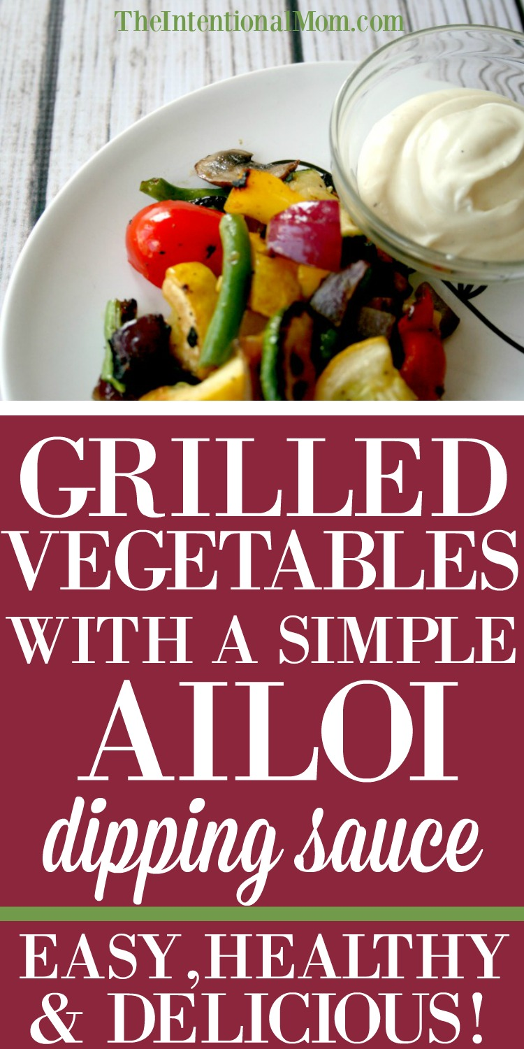 grilled vegetables aioli