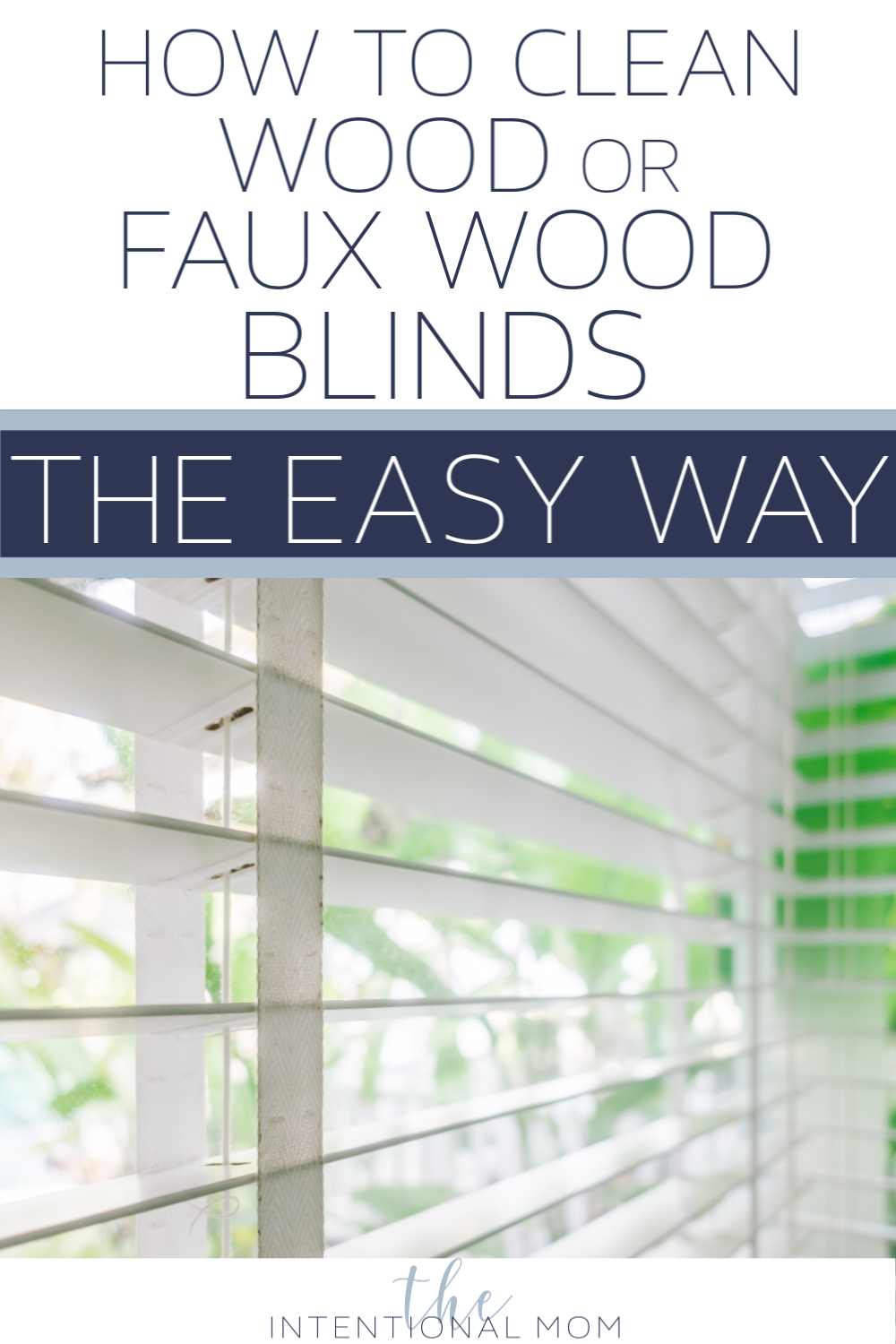 how clean wood faux blinds