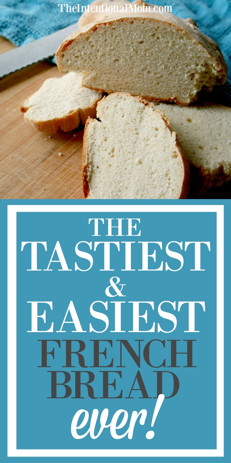 Check Out This Easy Recipe For Some Amazing French Bread