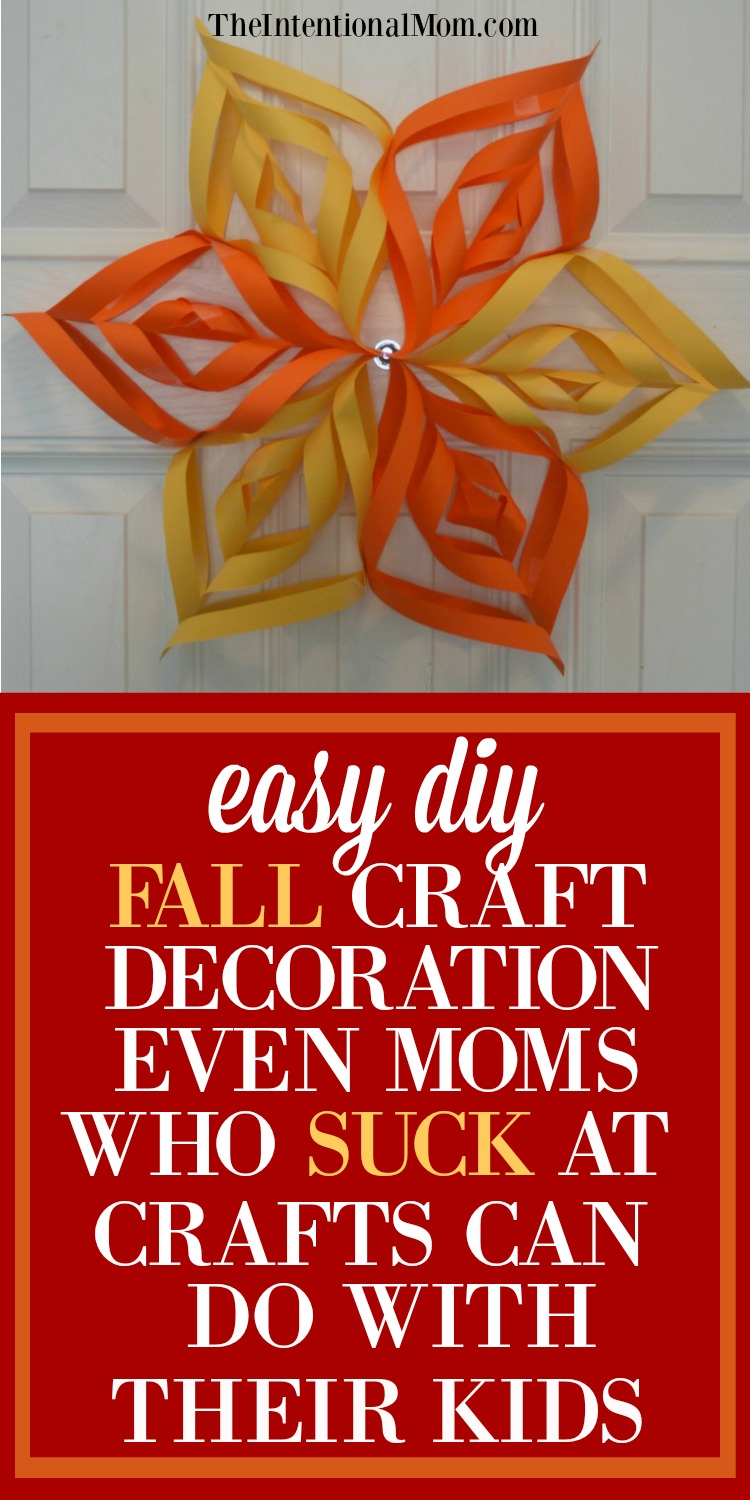 Easy diy fall craft decoration for moms who suck at crafts for Easy diy fall crafts