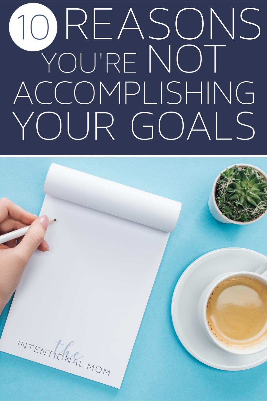 how to set good goals