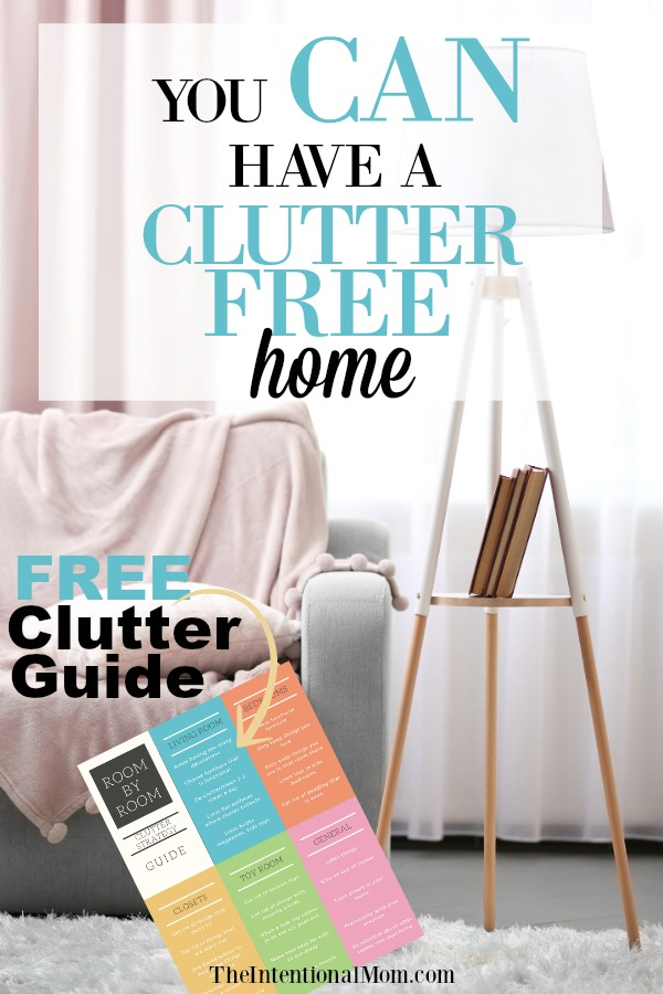 clutter free home