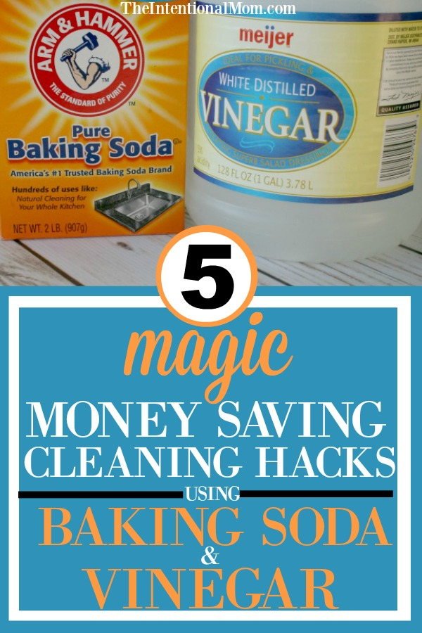cleaning baking soda vinegar